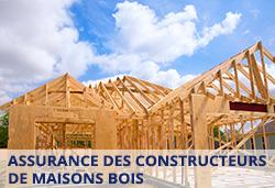 Assurance de constructeurs de maisons en bois - photo