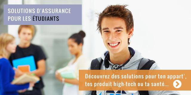 Solutions d'assurance pour les étudiants