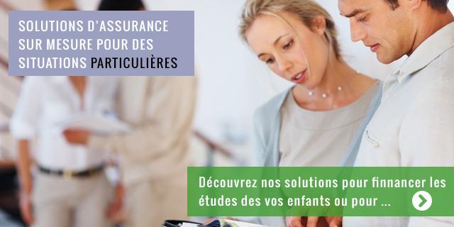 Solutions d'assurance sur mesure